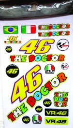 Kit Adesivos 46 The Doctor Valentino Rossi (90017020)