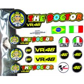 Kit Adesivos The Doctor VR46 Valentino Rossi (90036100)